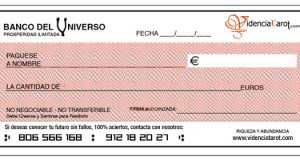 Cheque Abundancia Abril 2018